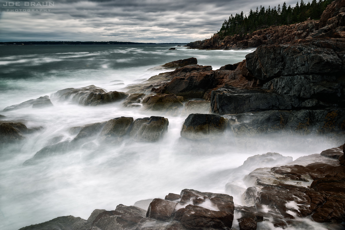 Lower Day Mountain and Hunters Cliff photo (Acadia National Park) -- © 2015 Joe Braun Photography