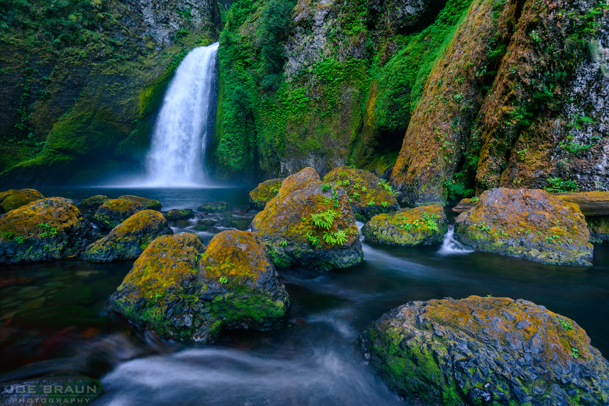 Wahclella Falls photo (Columbia River Gorge) -- © 2015 Joe Braun Photography