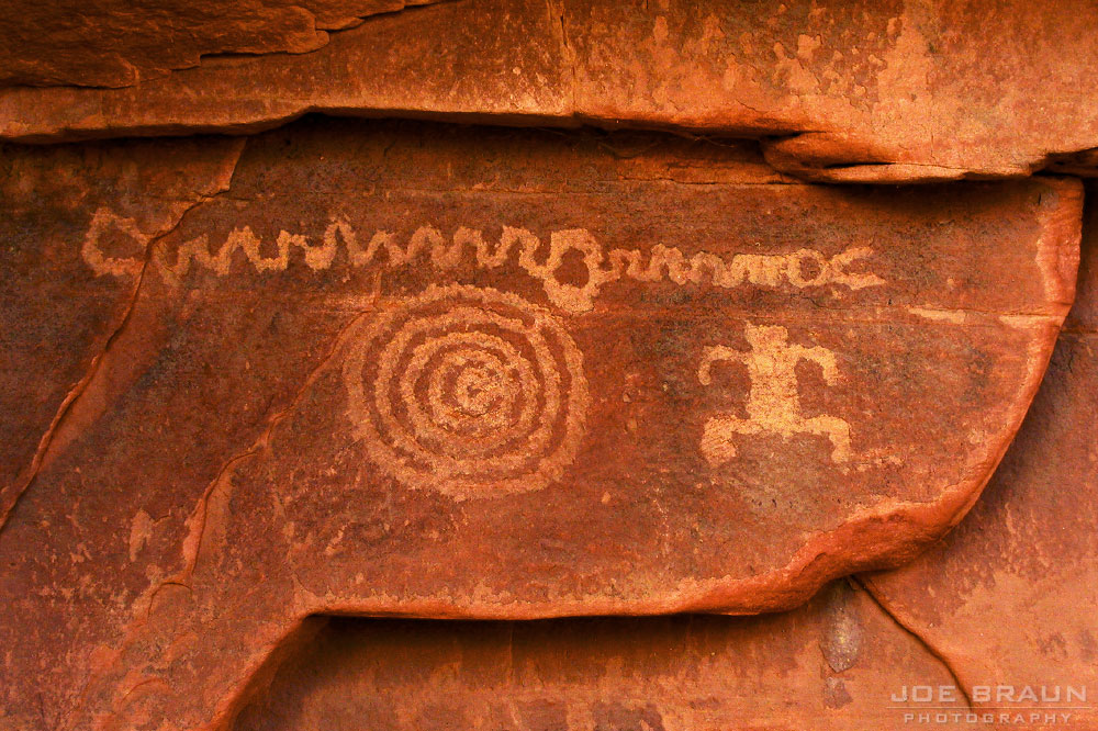 Petroglyphs (Zion National Park) -- © 2006 Joe Braun Photography