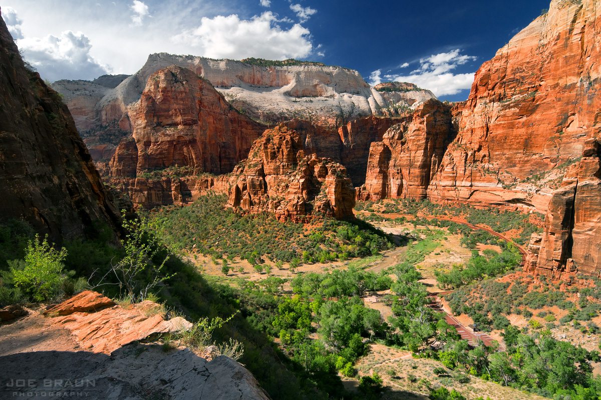 Hidden Canyon photo (Zion National Park) -- © 2010 Joe Braun Photography