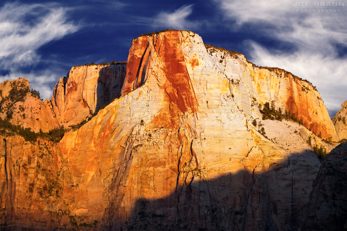Altar of Sacrifice Sunrise (Zion National Park) -- © 2011 Joe Braun Photography