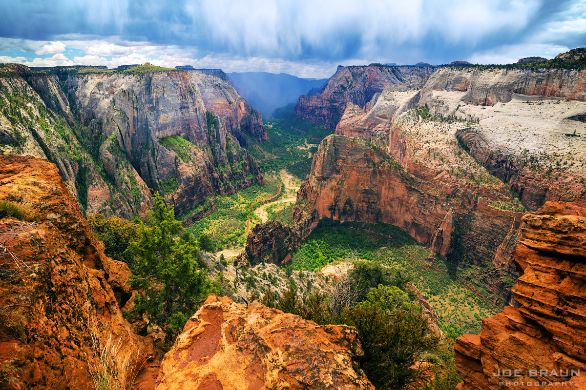 Observation Point Trail (Zion National Park) -- © 2013 Joe Braun Photography